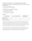 To Kill a Mockingbird Trial Organizer Activity Ch. 17-19
