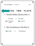 To Kill a Mockingbird Two plots