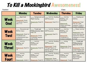 To Kill a Mockingbird Unit