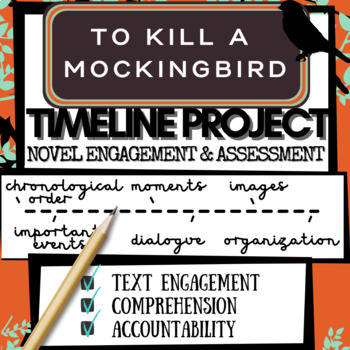 To Kill a Mockingbird Activity Project: Timeline (Engagement & Comprehension)