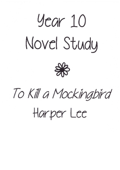 To Kill a Mockingbird Unit of Work