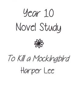 To Kill a Mockingbird Unit of Work