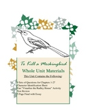 To Kill a Mockingbird Unit with Questions, Activities, Test Review, Test