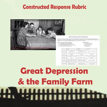 To Kill a Mockingbird - Video pair & CR -  Chapters 2/3 - Great Depression/ Farm
