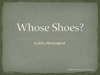 "To Kill a Mockingbird - ""Whose Shoes"" Creative Writing Activity"