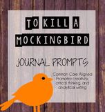 To Kill a Mockingbird Writing Prompts