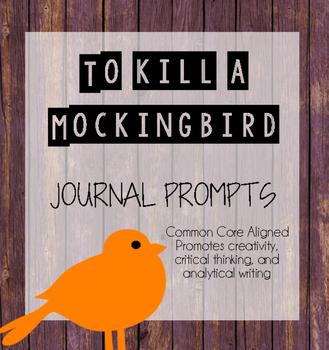 To Kill a Mockingbird Writing Prompts