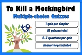 To Kill a Mockingbird by Harper Lee Multiple Choice Chapte