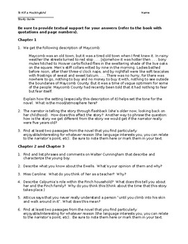 to kill a mockingbird discussion study guide questions chapters 1 rh teacherspayteachers com case study discussion guide Discussion Guide Infographic