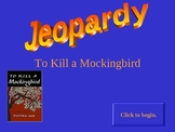To Kill a Mockingbird interactive Jeopardy game for Smart Board