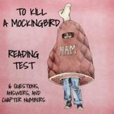 To Kill a Mockingbird (TEST)