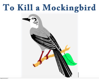 To Kill a Mockingbird worksheet bundle