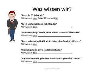 To Know - Kennen oder Wissen (German)