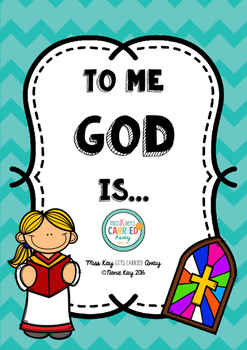 To Me God Is...Religion Activity!