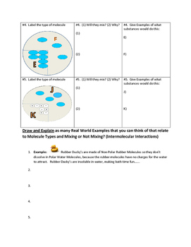 To Mix or Not to Mix (Polar and Nonpolar Molecule Review)