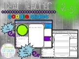 To My Next Teacher - Google Slides, Online & Distance Learning