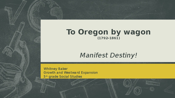 To Oregon by Wagon