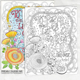 Christian Coloring Page Printable Download, God, Prayer, Religion, Spiritual