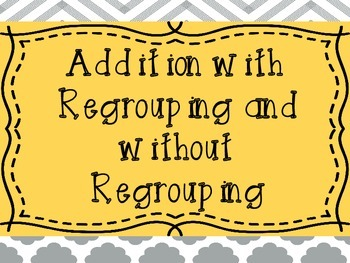 To Regroup or Not To Regroup