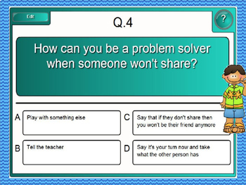 To Share or Not or Share?  Using the Sharing Rules Interactive PowerPoint