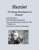 To Sleep Perchance to Dream (Hamlet Activity)