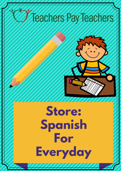 To Spanish Teachers: