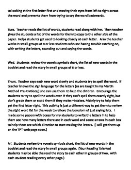 To Teachers - About the Sight Word Stories