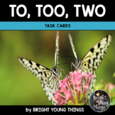 To Too Two Task Cards