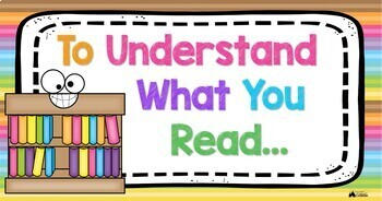 To Understand What You Read Poster Set