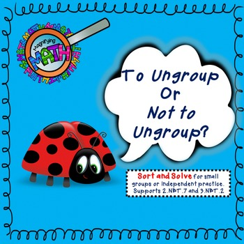 To Ungroup or Not to Ungroup?