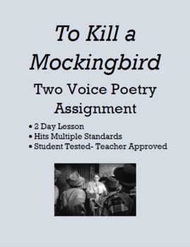 "To Voice Poem (""To Kill a Mockingbird"")"