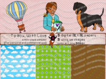 To You With Love - mini-pack sampler {for personal and commercial use}