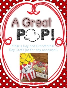 to a great pop father s day and grandfather s day craft tpt