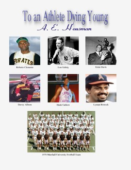 To an Athlete Dying Young by A. E. Housman