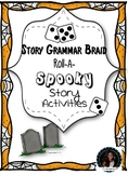 To be used with Story grammar braid: Roll A Spooky Story: Halloween Edition