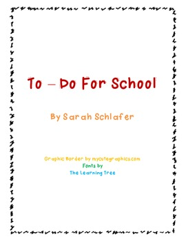 To-do For School