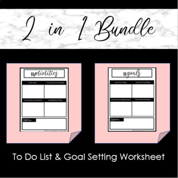 To-do List & Goal Setting