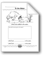 To the Water (Draw a Duck and Use Explicit Verbs)