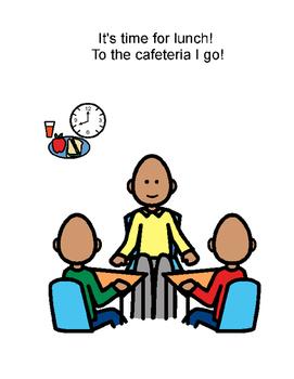 To the cafeteria I will go (social story)