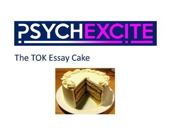 ToK essay cake