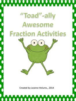 """Toad""-ally Awesome Fraction"