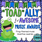 """""""Toad""""-ally Awesome Music Awards!"""