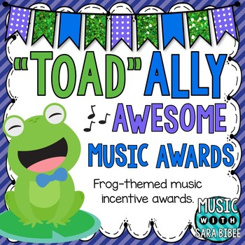 """Toad""-ally Awesome Music Awards!"