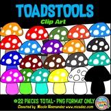 Toadstools (Mushroom) Clip Art for Teachers