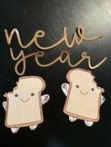 Toast Writing Template