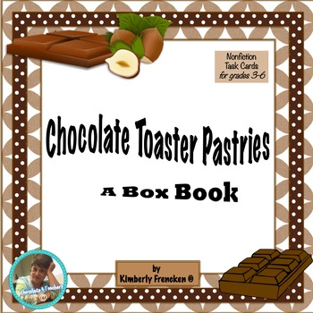 Informational Text Literacy Center: Toaster Pastry Box Book