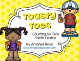 Toasty Toes: Counting By Tens Math Centre