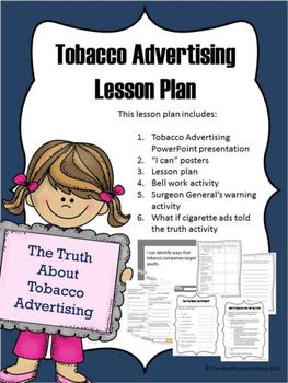 Tobacco Advertising Lesson Plan