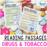 Tobacco Drugs Vaping Prevention Reading Passages | Annotations