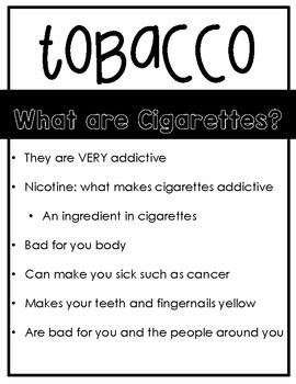 Tobacco Handout and Quiz